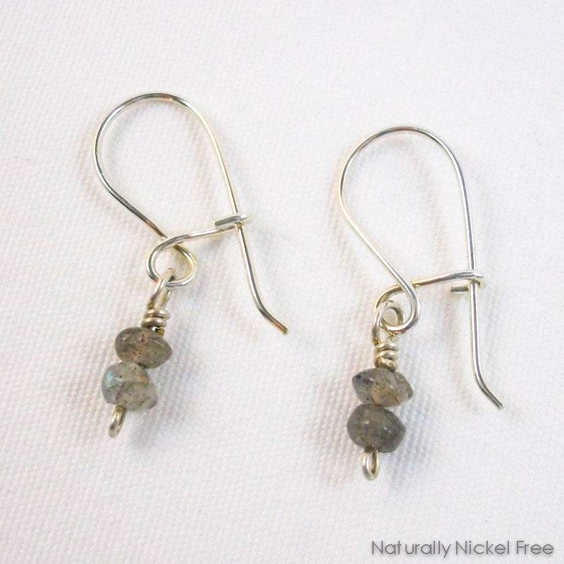 Labradorite Argentium Sterling Silver Interchangeable Earrings Product Images Of