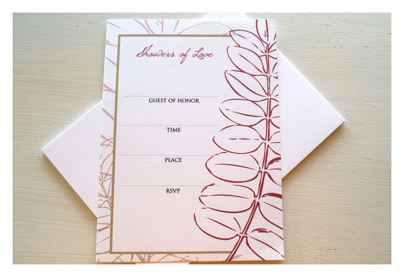 Fill In The Blank Bridal Shower Invitation