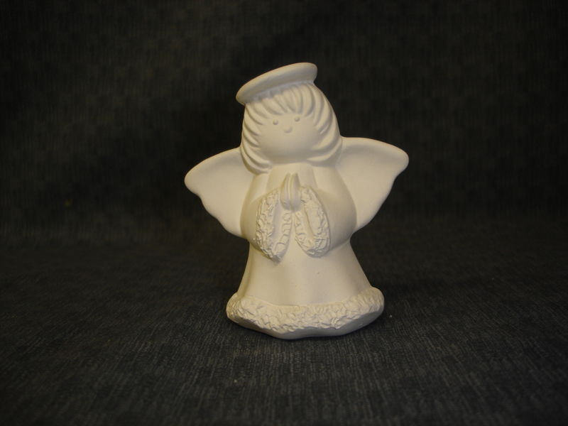 Angel Ornaments Ceramic Bisque Ready To Paint Kgkrafts S