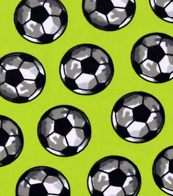 Cotton Flannel Quilt Fabric Snuggle Fabric-Camo Soccer Ball - product  images of e3c2e33b1603