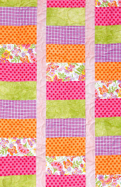 Quick Baby Quilt Simple And Sweet Baby Flannel Quilt Kit