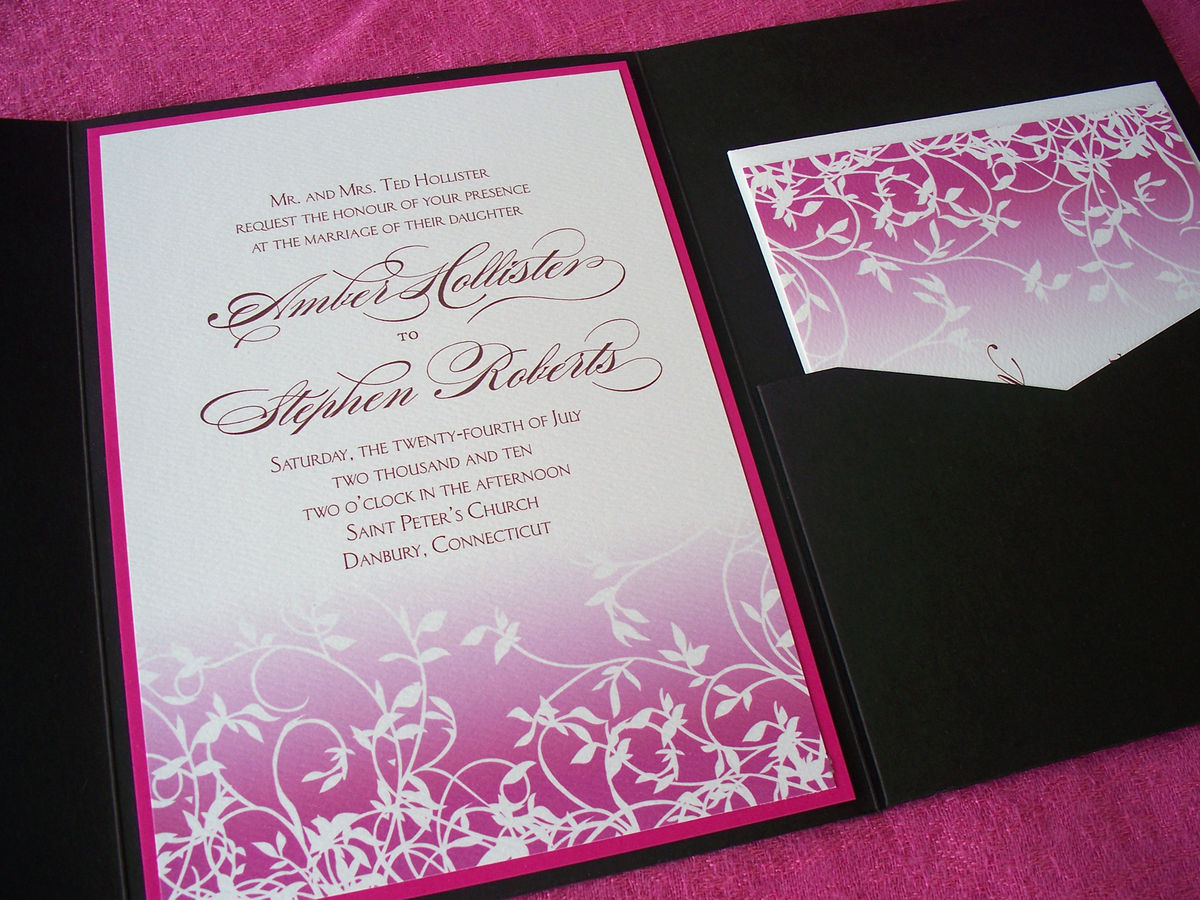 Free Samples Wedding Invitations: Wedding Invitation Sample