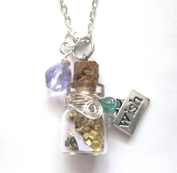 Magic Wish Bottle Necklace