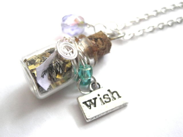 Magic Wish Bottle Necklace