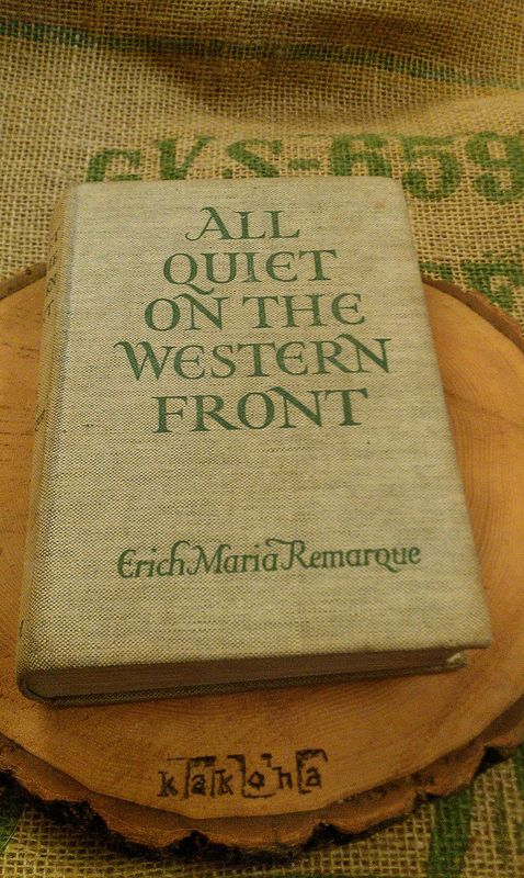 An examination of the novel all quiet on the western front by erich maria remarque