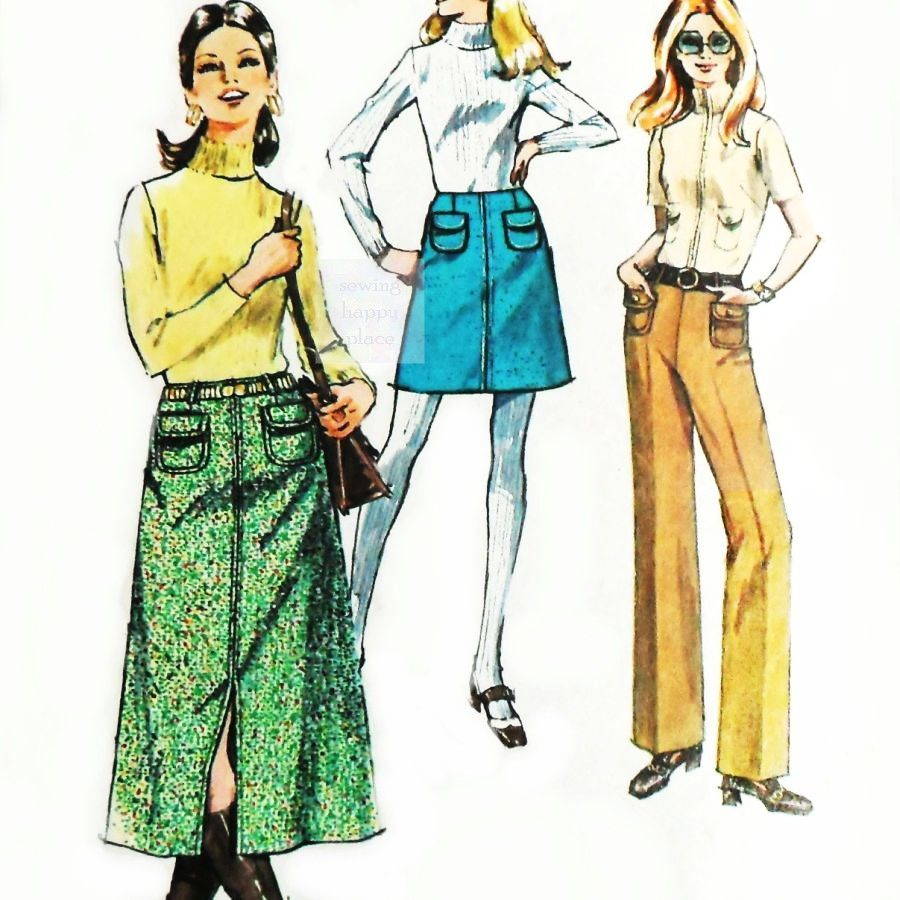 Line Skirt Patterns 116