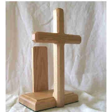 Cross Bible Display Stand Storage Ss Woodcraft