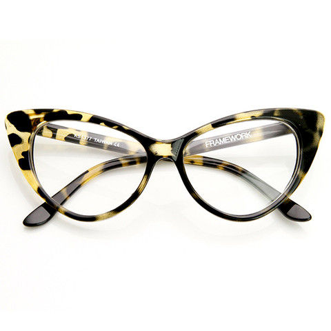 42b29f9276e 1950 s Vintage Mod Cat Eye Glasses - Crylittle Designs