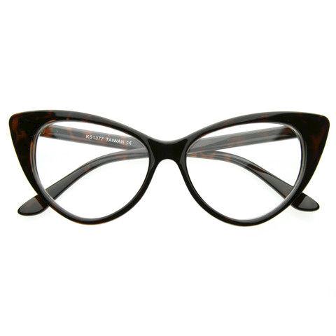 53dc42cdad 1950 s Vintage Mod Cat Eye Glasses - Crylittle Designs