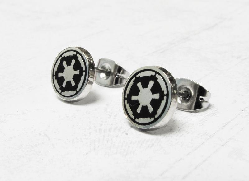 Star Wars Empire Stud Earrings Stainless Steel