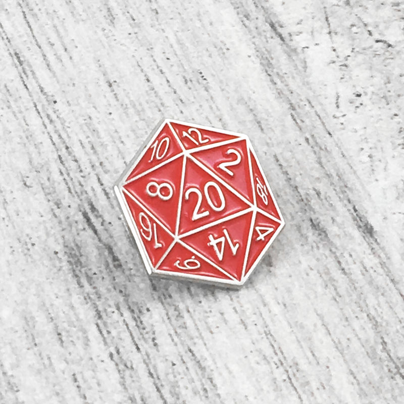 Miraculous D20 Enamel Pin Red Home Remodeling Inspirations Genioncuboardxyz