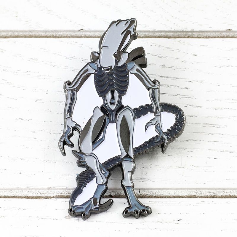 Alien Xenomorph Enamel Pin