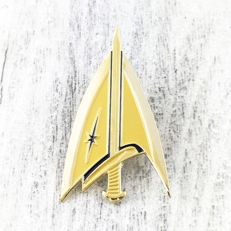 Star Trek Mirror Delta Enamel Pin