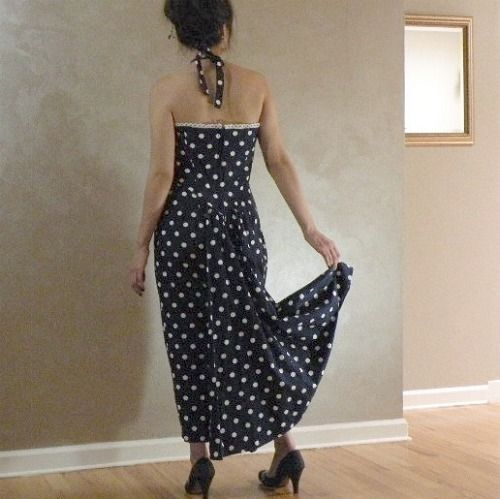 80 Karen Alexander Pin Up Perfect Mermaid Dress 37b 29w Product