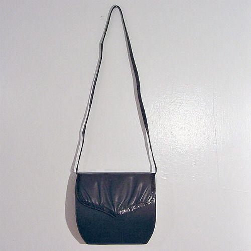 80s Valentino Garavani Bag Purse Snake Leather Pretty