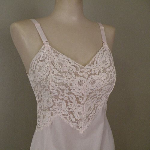 70s Pink Mini Slip By Aristocraft Small Pretty Sweet Vintage