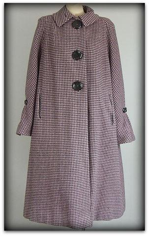 70s Young Innocent Pin Dot Mini Dress Small Pretty Sweet