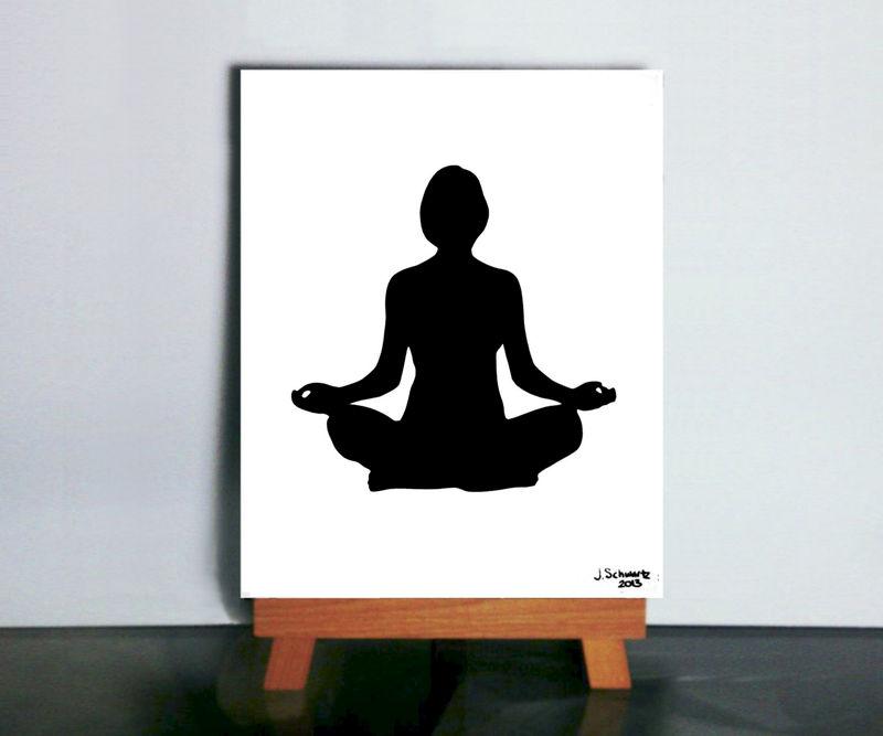 Meditation Art Yoga Aum Buddhist Om Papercutting Vibrant Shadows Paper Art