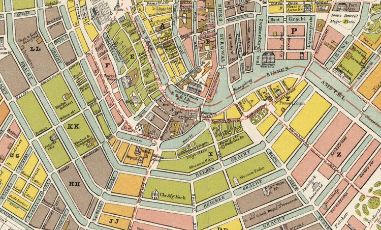 Old Vintage Map of Amsterdam Netherlands 1882 Antique Map on map of keukenhof, map of phoenix, map of holland, map of europe, map of randstad, map of barcelona, map of pauls valley, map of rome, map of amster, map of south west western australia, map of switzerland, map of berlin, map of georgia international horse park, map of brussels, map of belgium, map of jamaica, map of netherlands, map of germany, map of antipodes,