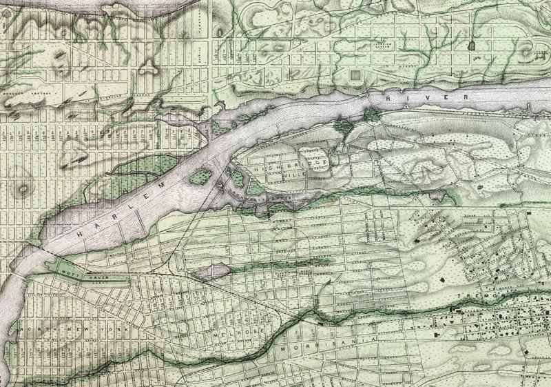Map Of New York Brooklyn.Old Map Of New York Brooklyn Plan 1874