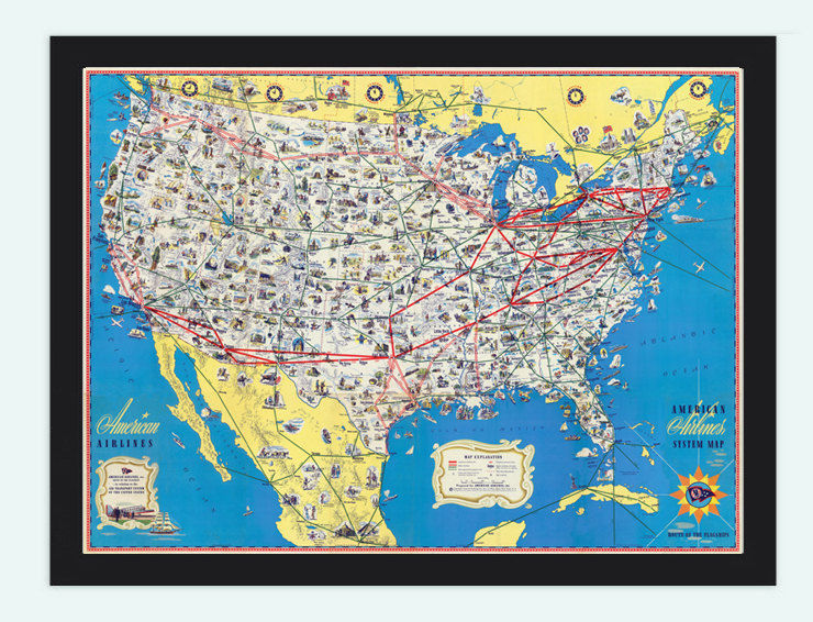 Old Map of United States 32x24American Airlines 1845 United States Map on united states map bodies of water, united states map 1860, united states map southeast usa, united states canada mexico, united states map 1800, united states map 1836, united states map grade 1, united states map 1846, united states political map 2012, united states declares war on mexico, united states map 1865, united states map 1848, united states map 1820, united states map 1812, united states map 1823, united states map 1821, united states map 1830, united states political map with cities, united states map 1850, united states map 1847,