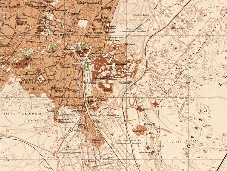 Old Map Of Cairo Egypt 1920 Old Maps And Vintage Prints