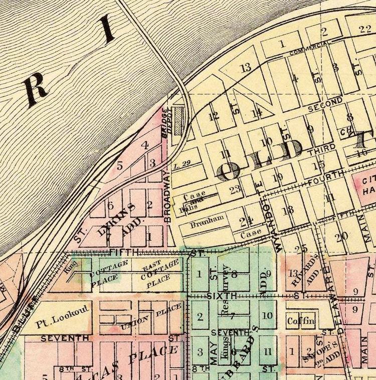 Old Kansas Map.Vintage Map Of Kansas City Missouri 1882 Old Maps And Vintage Prints