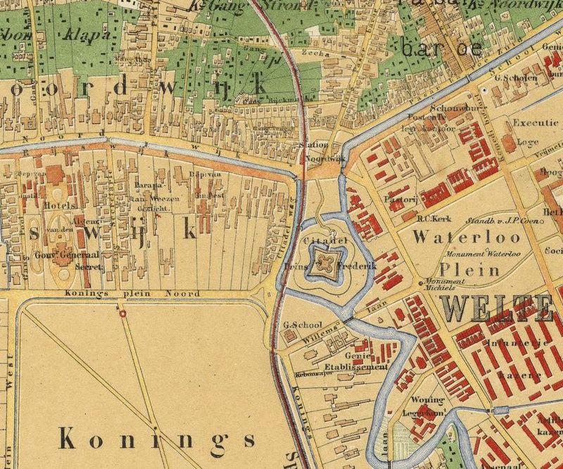 Map Jakarta.Old Map Of Jakarta Batavia Indonesia 1876