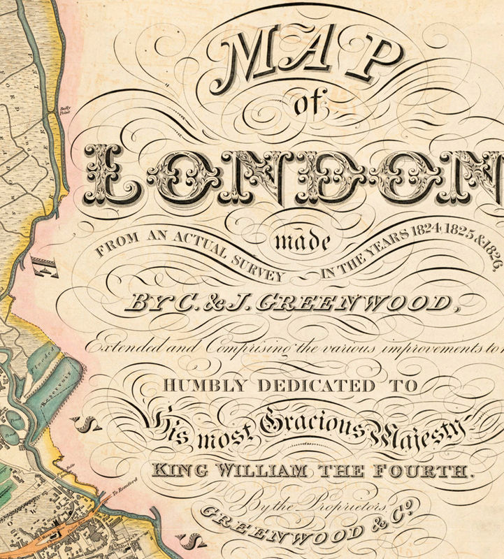 Marvellous Old London Map 1830 England Old Maps And Vintage Prints