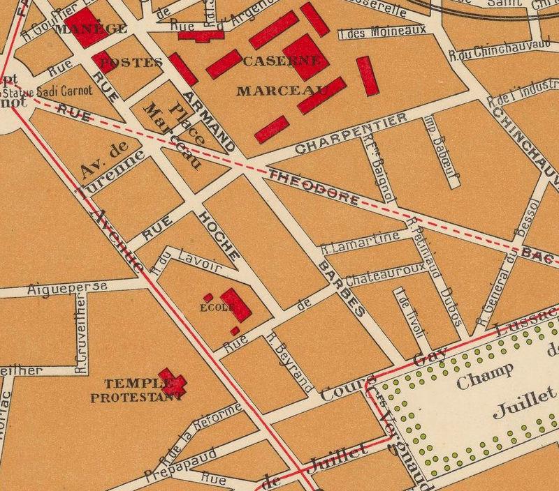 Limoges France Map.Old Map Of Limoges 1931 France Old Maps And Vintage Prints