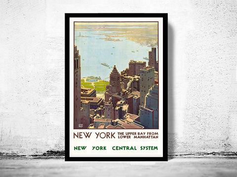 vintage poster of napoli italy 1920 tourism poster travel old maps and vintage prints. Black Bedroom Furniture Sets. Home Design Ideas