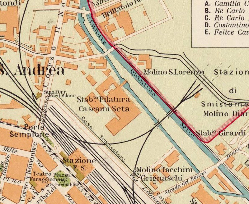 Novara Italy Map.Old Map Of Novara 1930 Antique Vintage Italy Old Maps And Vintage