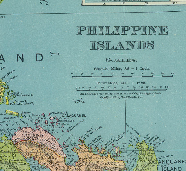 330ebf2613956 Old Map of Philippine Islands Philippines 1903