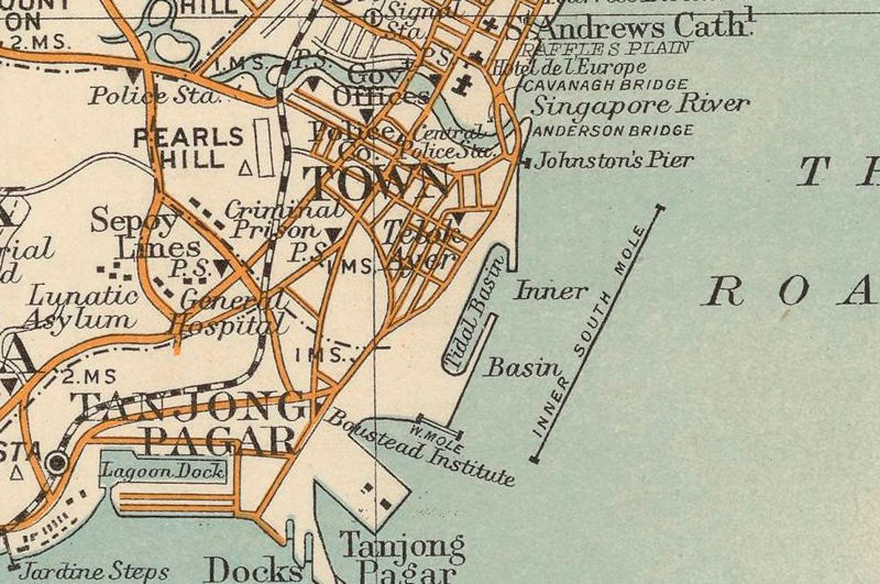 Suggest you Vintage maps singapore