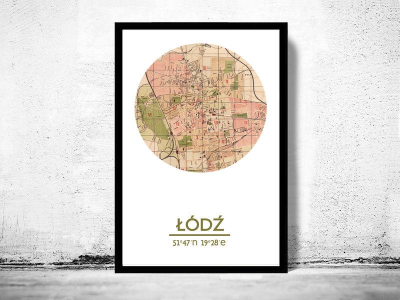 City Map Poster Print