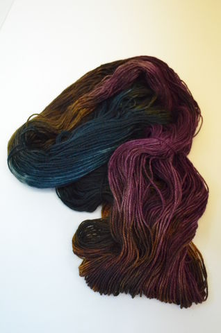 Hand Dyed Yarns Collection Bumblebee Acres Farm Fiber Shop