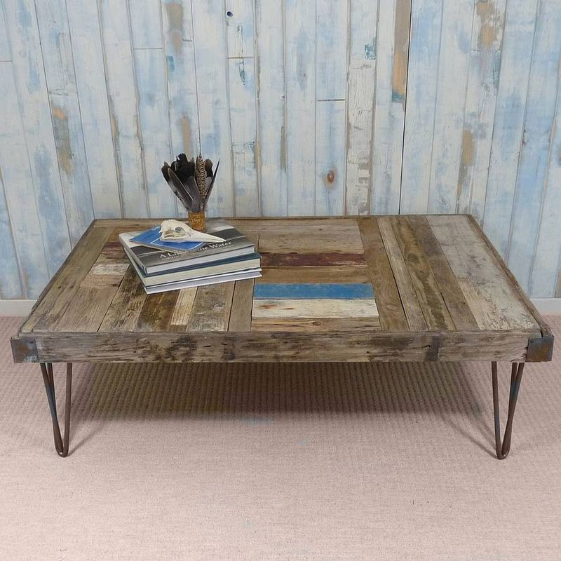 Whale Wharf Driftwood Coffee Table
