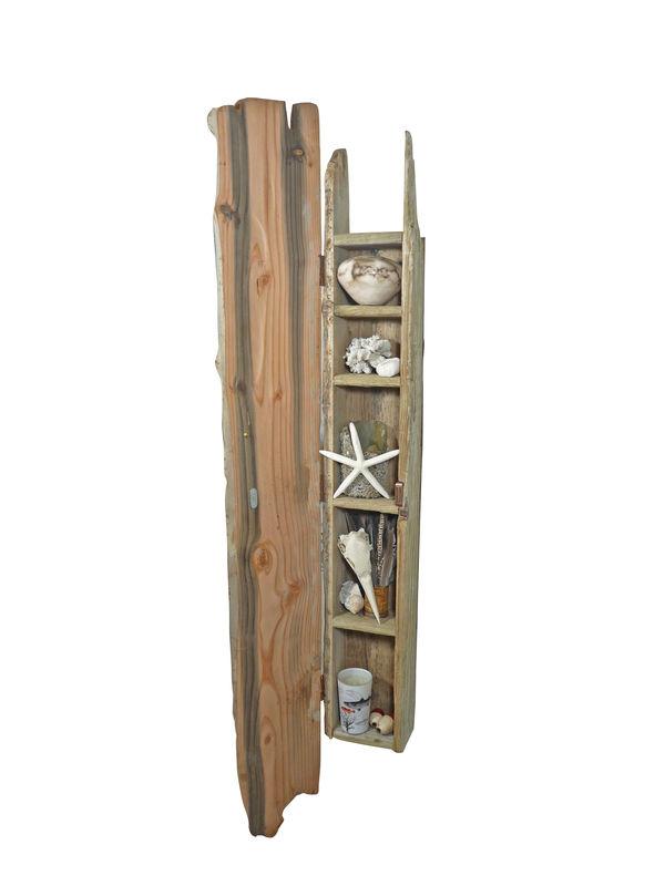 Camber Driftwood Cabinet Nautilus Design