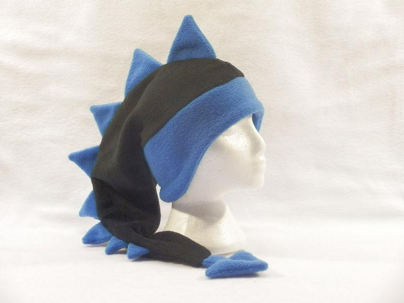 8d9206c3d4d Dragon Hat - Black Royal Blue - Ningen Headwear