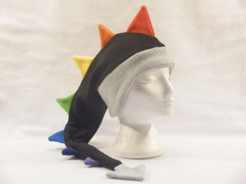f408918f6c5 Rainbow Dragon Hat - Fleece - Ningen Headwear