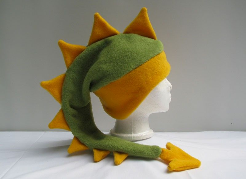 9d450c5a4c5 Light Green and Yellow Gold Dragon Hat - Ningen Headwear