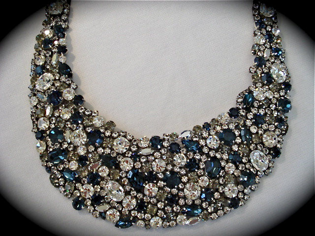 Midnight Blue Wedding Jewelry Collection The Crystal