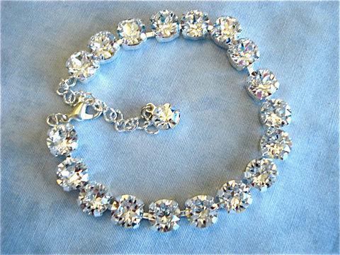 Crystal Chunky Bracelet Swarovski The Crystal Rose