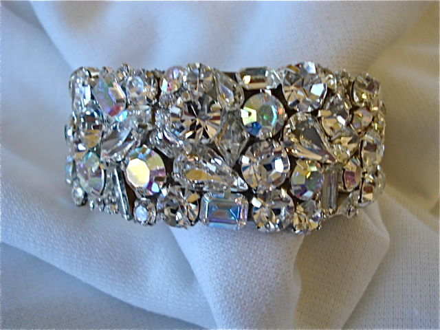 Swarovski Crystal Bridal Cuff Bracelet 1 Quot Cuff The