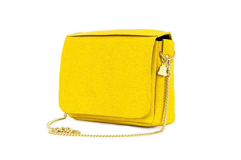 Yellow Citibag Wilby Sustainable Vegan Accessories
