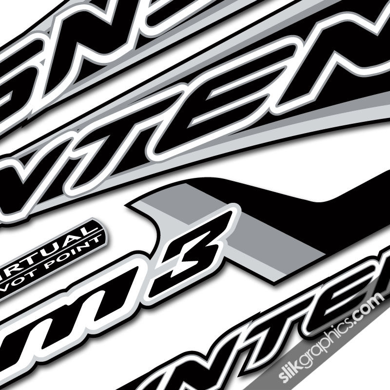 Intense m3 style decal kit product images of
