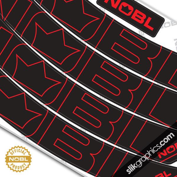 Nobl Wheels Collection Slik Graphics