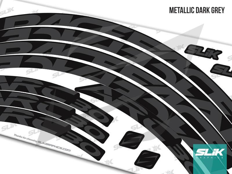 Raceface Arc 30 Style Rim Decals Slik Graphics