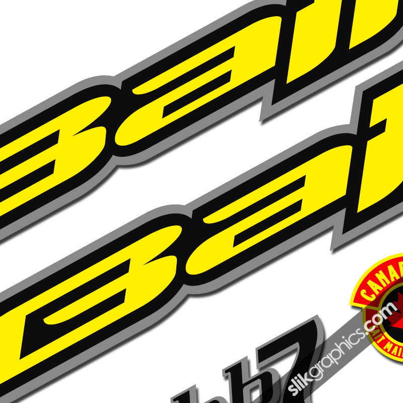 Balfa bb7 decal kit product images of