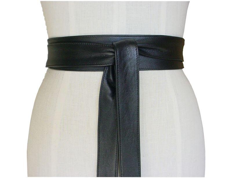 156d165b094312 Ella leather belt